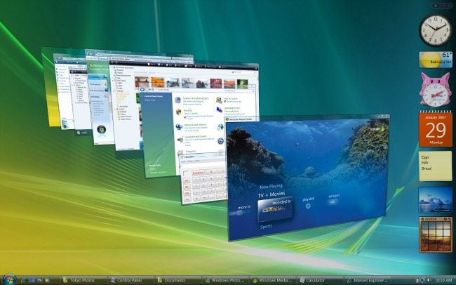 Windows Vista se jubila