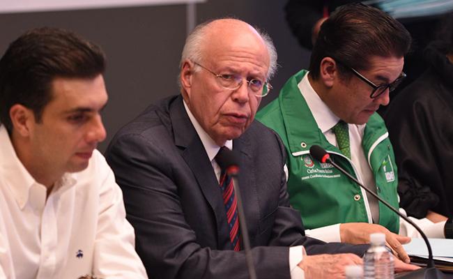 """Murat no tiene """"llenadera"""", aseguró José Narro Robles"""
