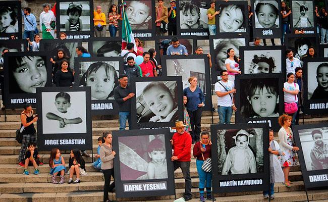 Padres aún esperan justicia a 8 años del incendio en Guardería ABC