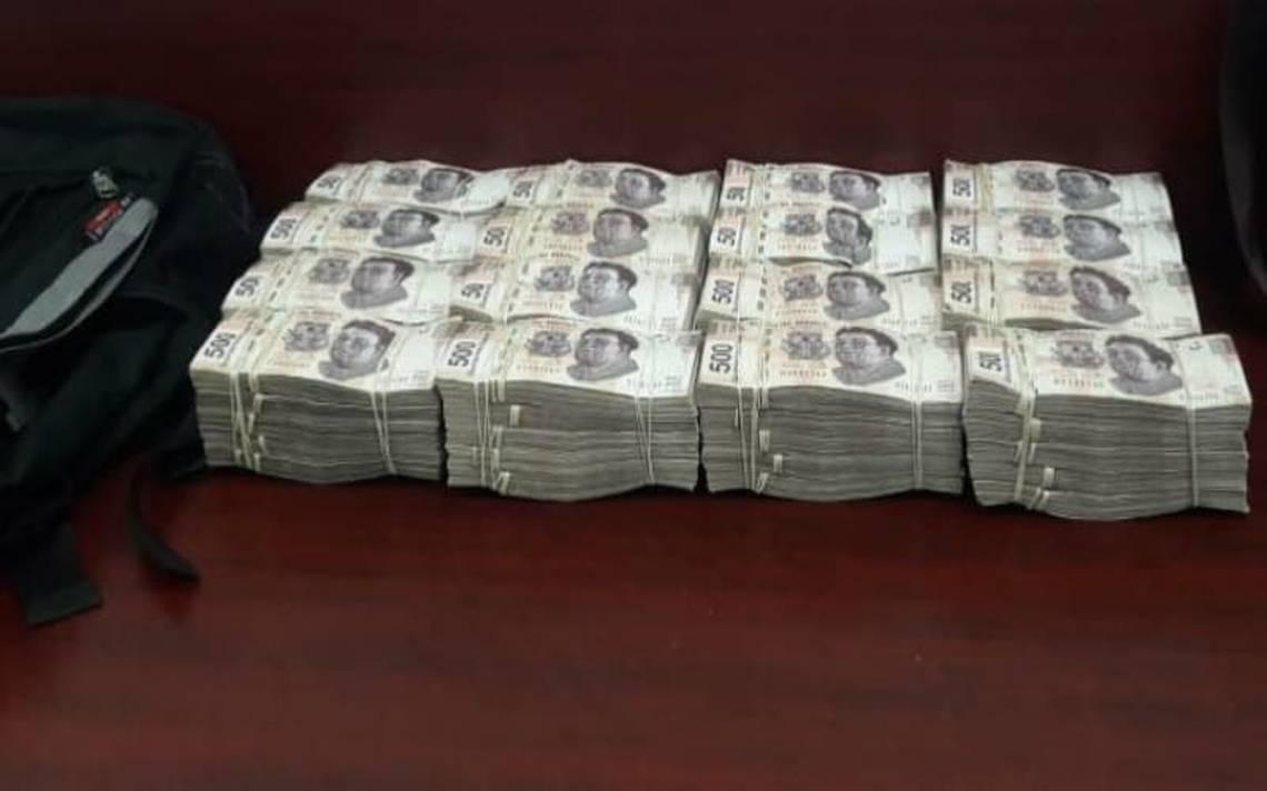 PGR asegura casi 4 millones de pesos y detiene a tres sospechosos