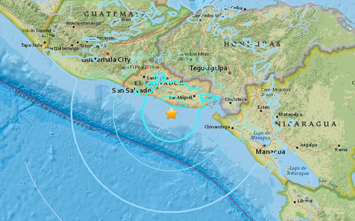 Sismo de 5.9 sacude costas de El Salvador; descartan riesgo de tsunami
