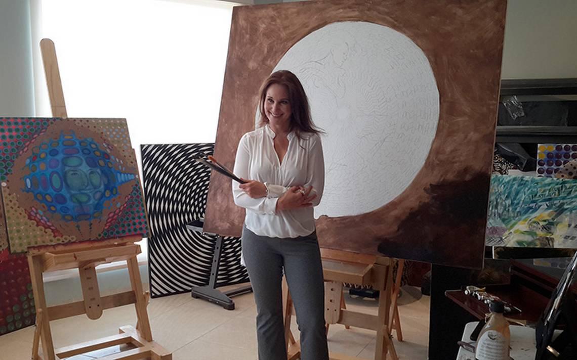 Jessica Feldman representante mexicana en la feria artística de Taiwán