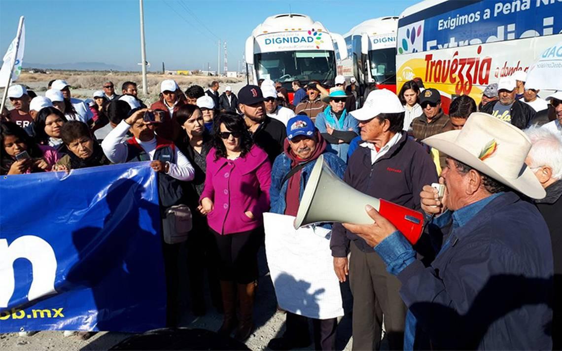 Caravana por la Dignidad avanza hacia Nuevo León
