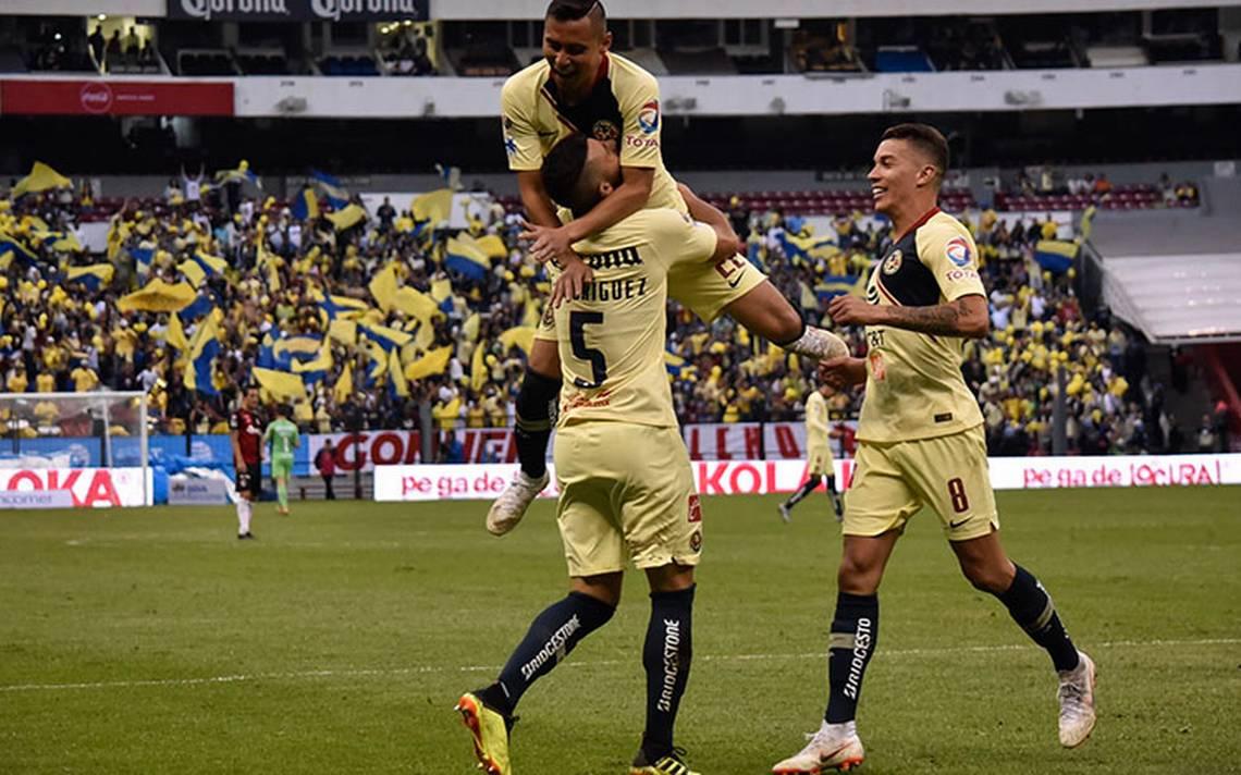 América se aprovecha de Atlas en su primer triunfo del Apertura 2018