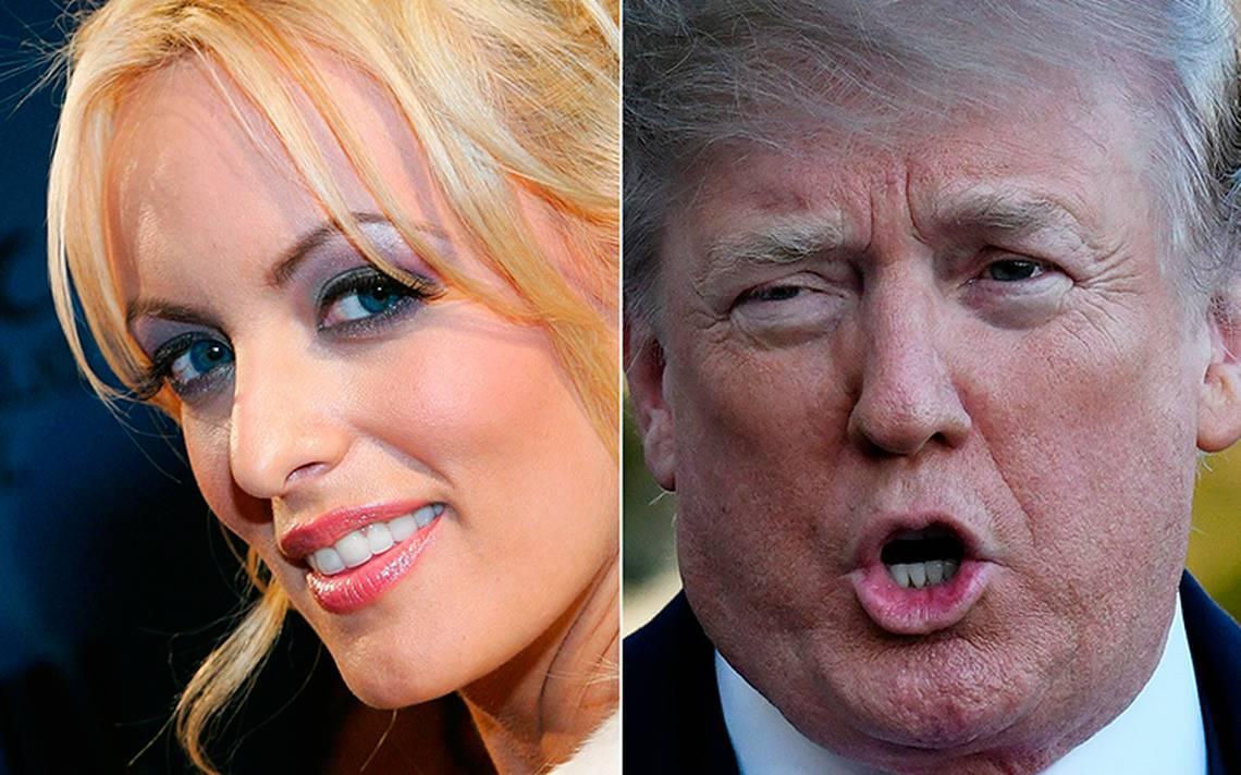 Actriz porno revela cómo la amenazaron para callar relación con Trump