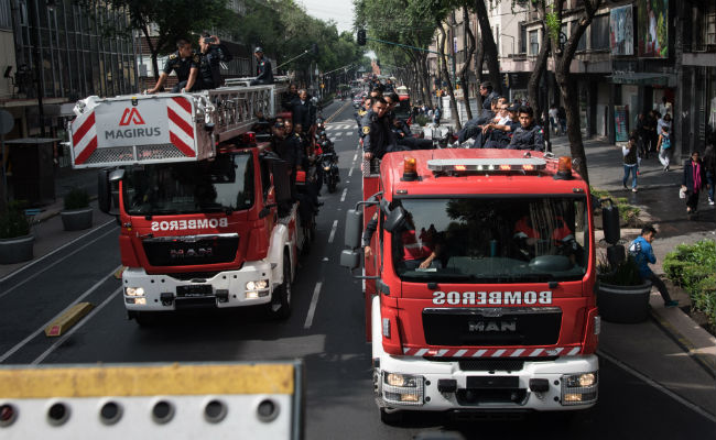 """Investigan al """"bombero"""" de Bellas Artes por usurpación de funciones públicas"""