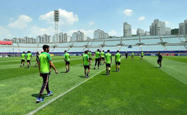 México enfrenta a Inglaterra en el Mundial Sub-20