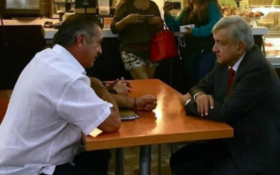 AMLO y El Bronco se reúnen por primera vez a dos meses de elección presidencial