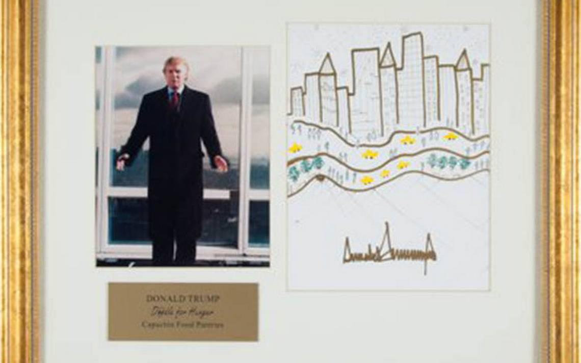 Arte de Trump conmueve de nuevo: subastarán su retrato de NY