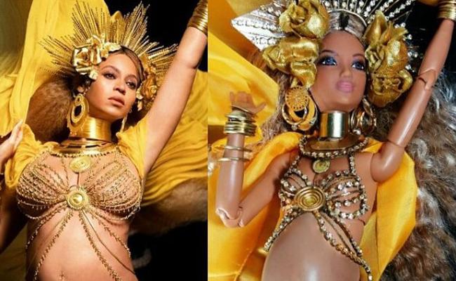 La cantante Beyoncé ya tiene su propia muñeca embarazada