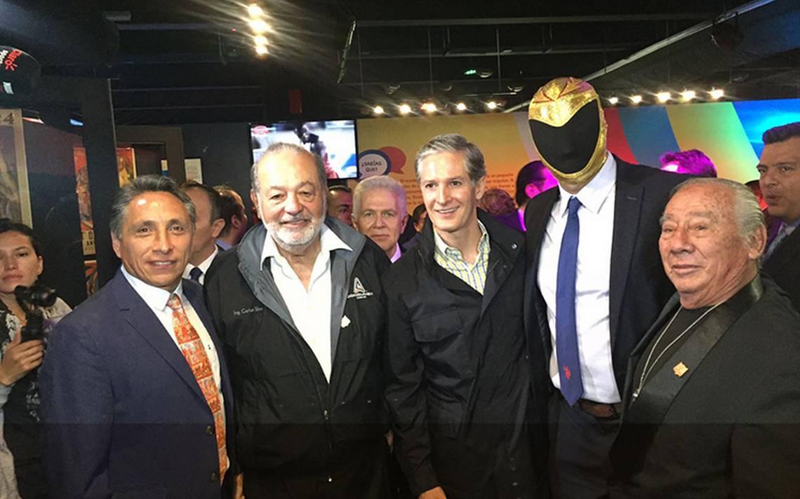 Inauguran el Salón del Deporte Fundación Carlos Slim en Edomex