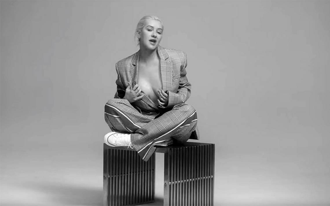 Christina Aguilera regresa mA?s sensual que nunca estrenando nuevo sencillo y video