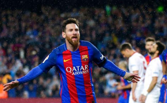 Messi regresa al Barcelona y golea al Sevilla; Real Madrid responde