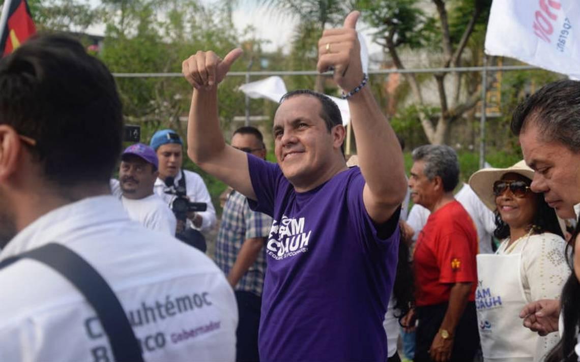 Cuauhtémoc Blanco no va a debate, dice le tienen preparada una trampa