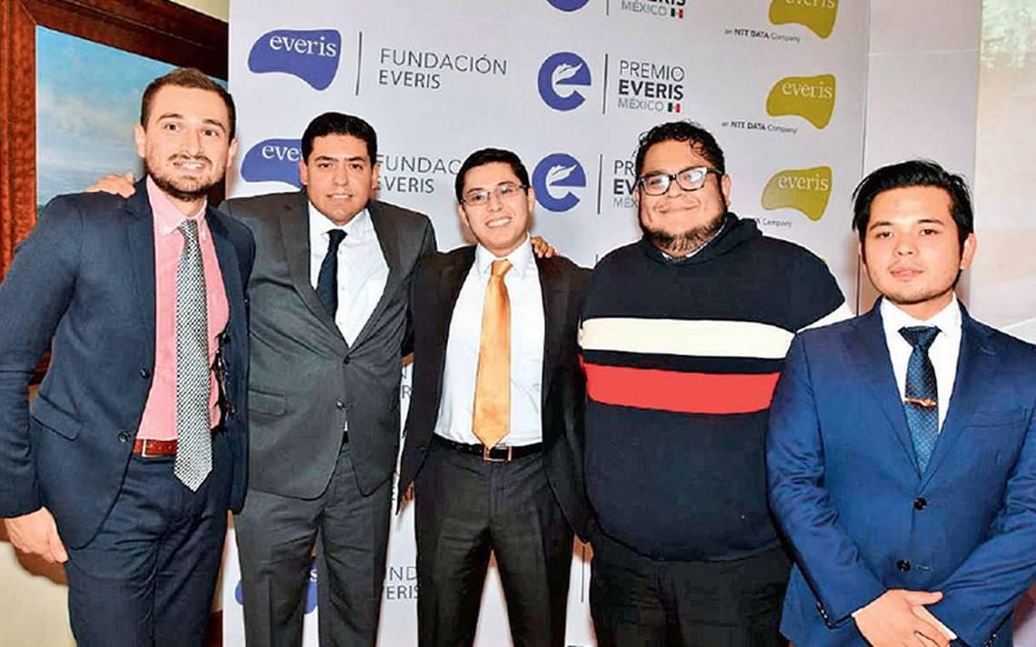 Gana App Finerio un millA?n de pesos, premio otorgado por Everis MA�xico