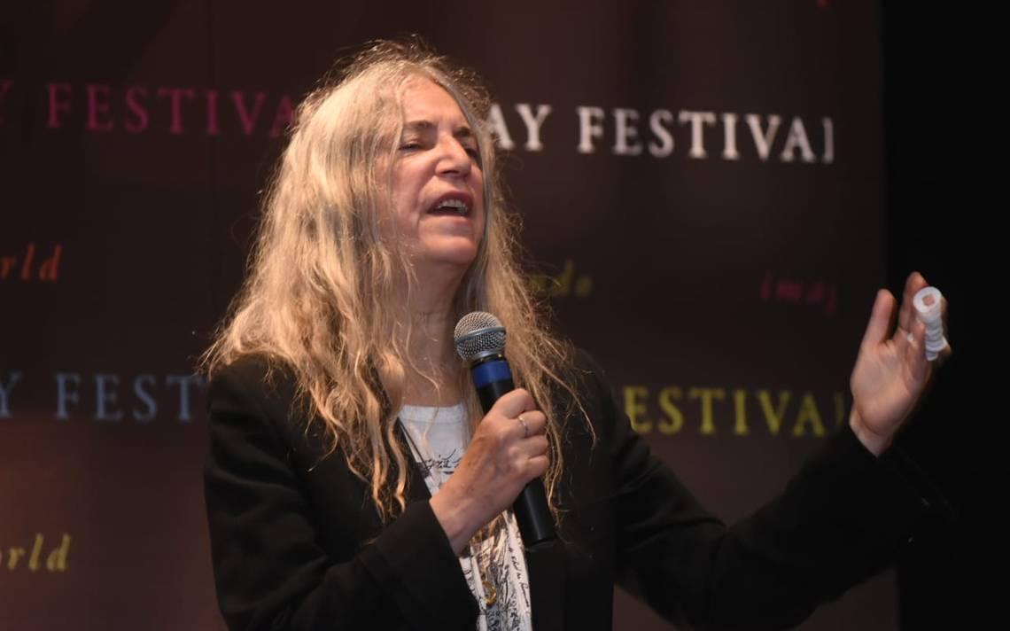 Patti Smith llega a Querétaro para visibilizar las muertas de Juárez