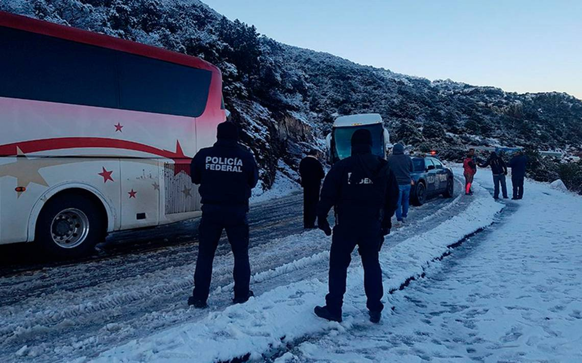 Seguridad sin frío: Policía Federal se une a 'Operativo Invierno 2017'