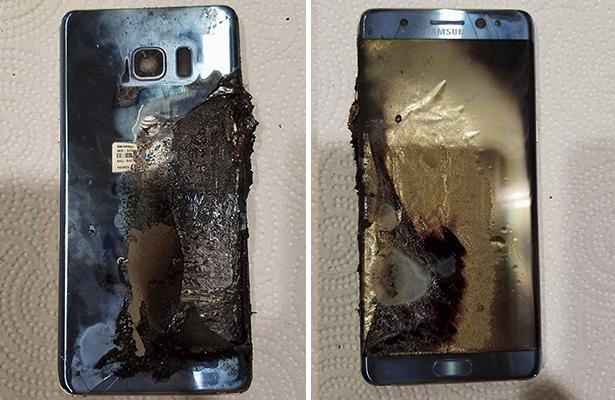 Se quema fábrica que hace baterías para Samsung Note 7