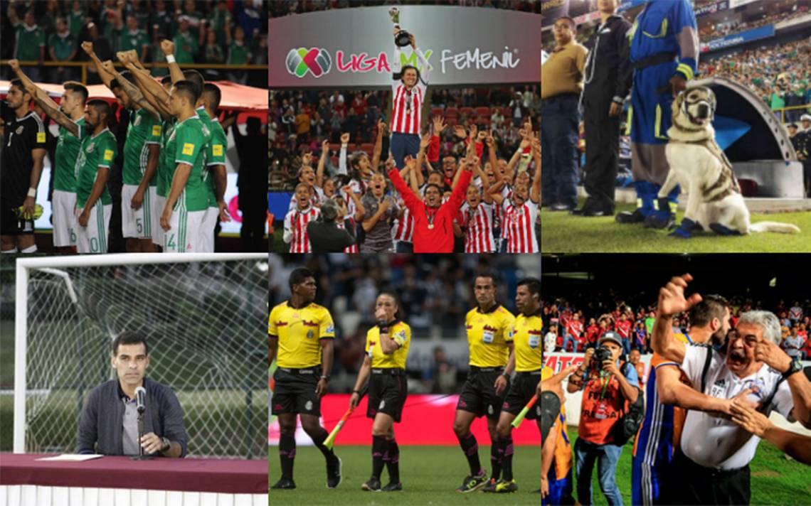 12 momentos que marcaron al futbol mexicano este 2017