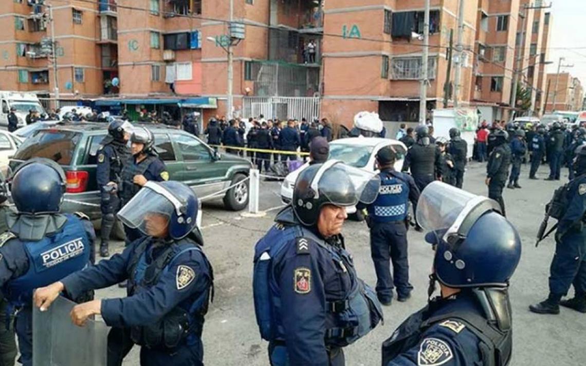 AsAi?? ocurriA? la balacera desatada por un intento de robo en unidad de Iztapalapa