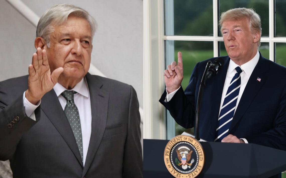 Vamos a trabajar bien juntos, dice Trump tras llamada con AMLO