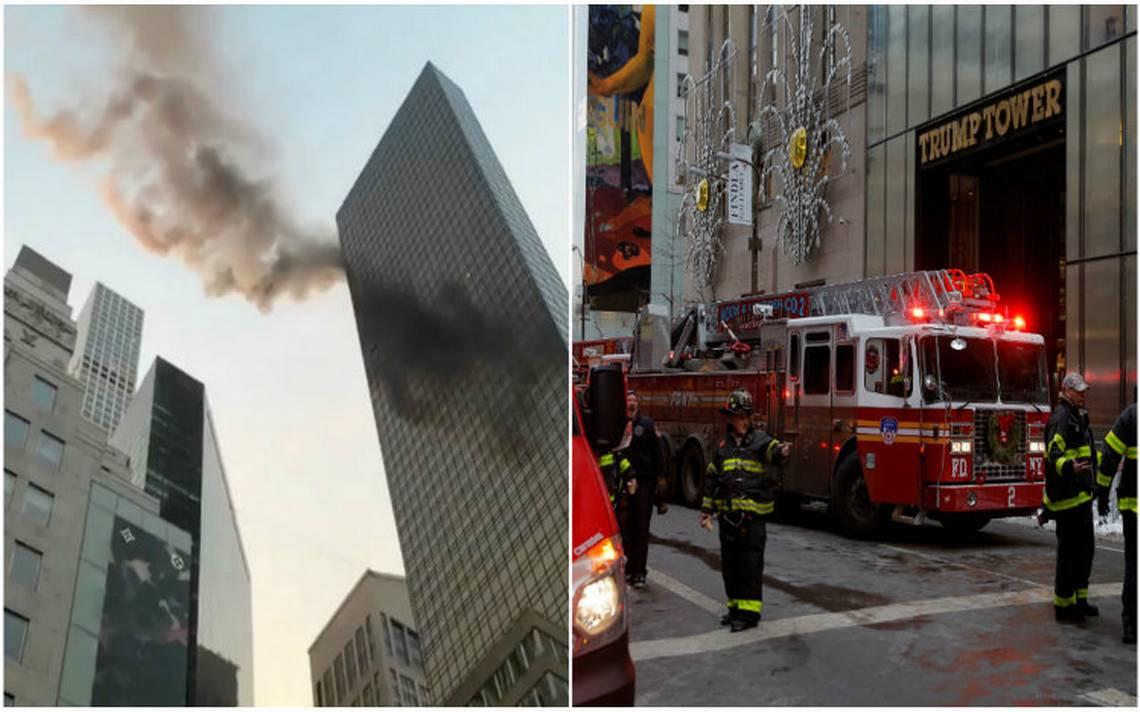 Incendio en Torre Trump de Nueva York deja al menos dos heridos