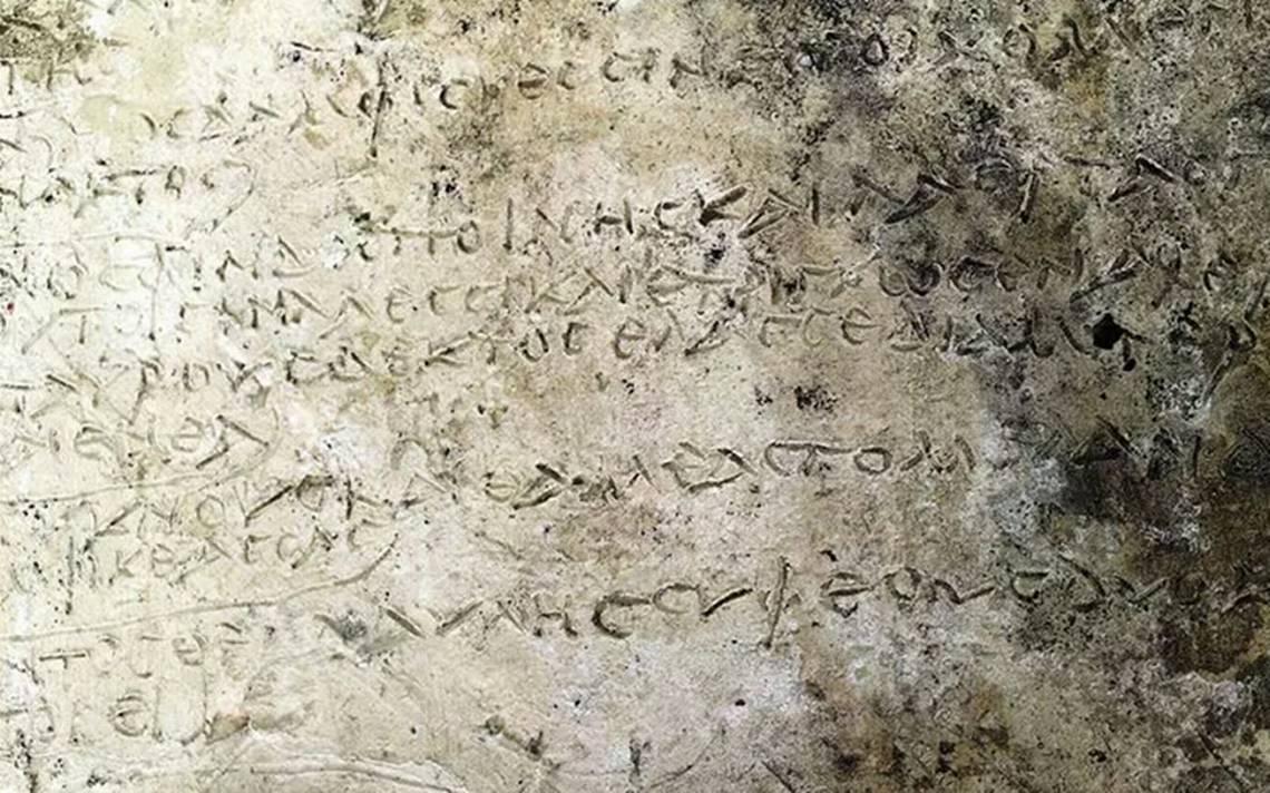 """Arqueólogos descubren la inscripción más antigua de """"La Odisea"""", de Homero"""