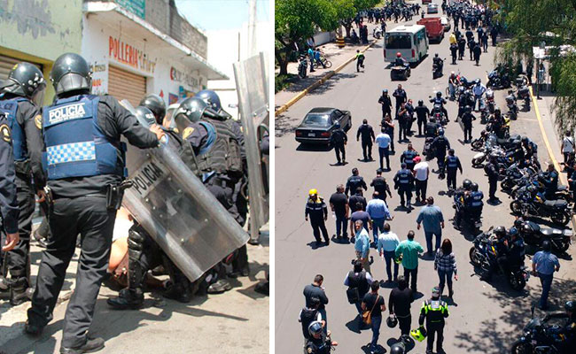 [Video] Tras enfrentamiento, 2 detenidos y 39 mototaxis remitidos en Xochimilco