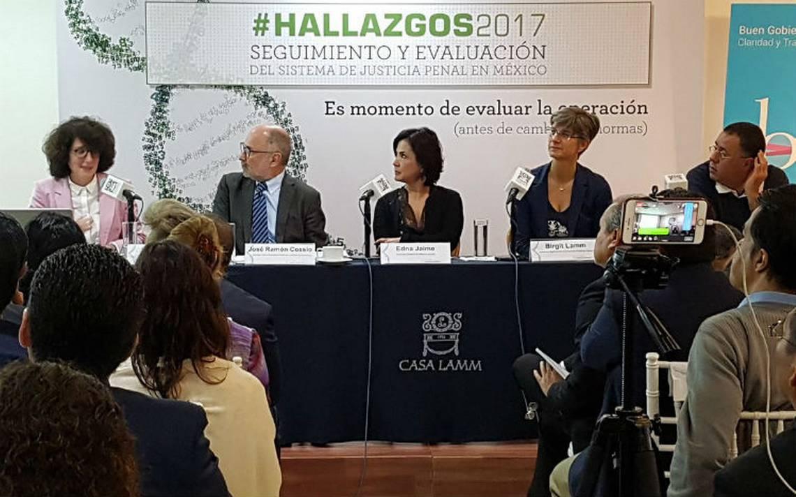 México Evalúa urge al próximo gobierno consolidar el sistema de justicia penal