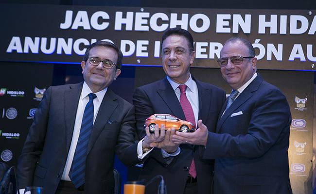 Invertirá firma automotriz 4 mil millones en Hidalgo