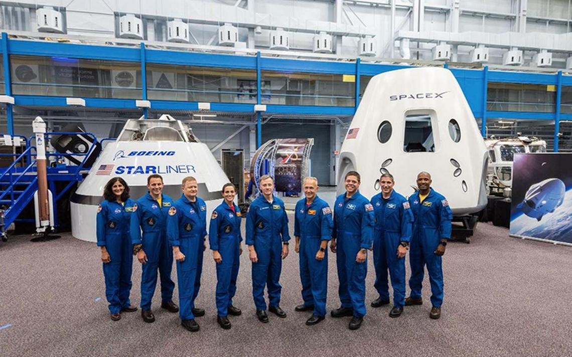 Ellos son los astronautas que viajarán en las primeras naves comerciales
