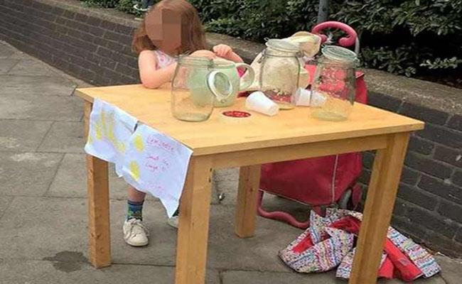 Niña emprendedora es multada por vender limonadas en Inglaterra