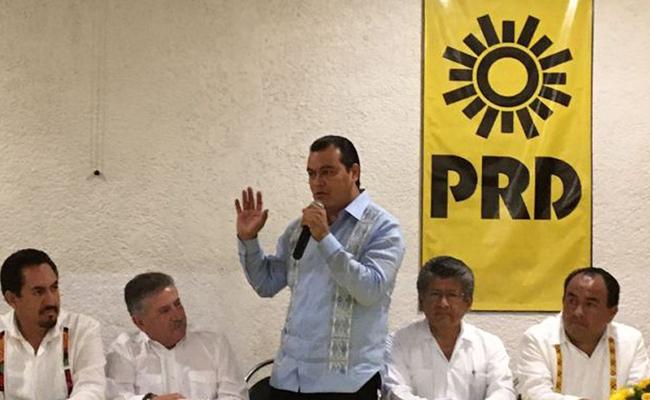 "Juan Zepeda da a conocer ""Frente Amplio"" en Oaxaca"