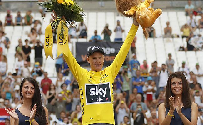 El británico Chris Froome aseguró su cuarto Tour
