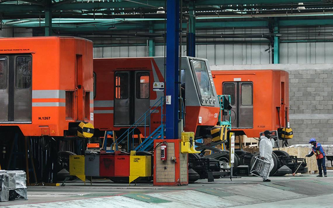 El Sistema de Transporte Colectivo dará mantenimiento a 282 trenes