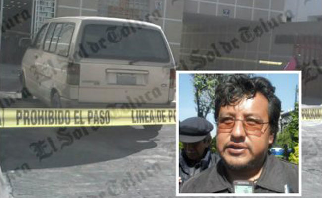 Hallan muerto a líder de comerciantes en Toluca