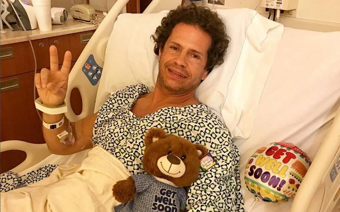 Diego Schoening fue operado por una oclusión intestinal