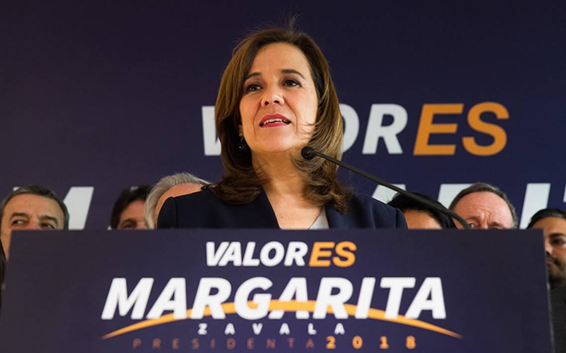 Aprueban fiscalización de Margarita Zavala; mañana recibiría registro