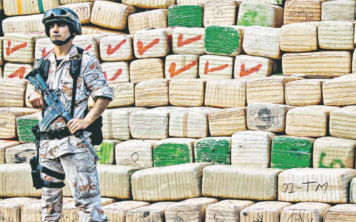 Tres grandes cárteles controlan el tráfico de drogas en el país: Marina