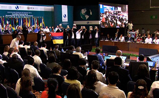 Fracasa OEA en declaración conjunta contra Nicolás Maduro