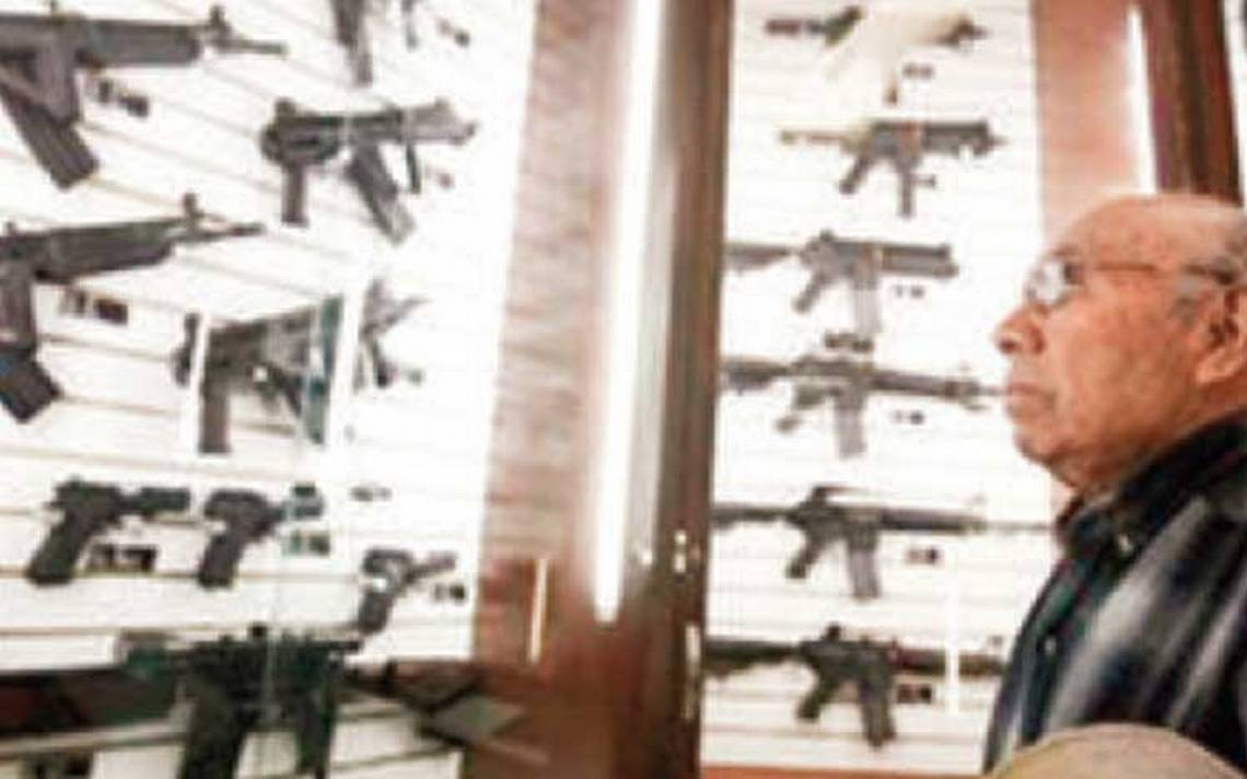 Van a mercado de Estados Unidos armas Made in México