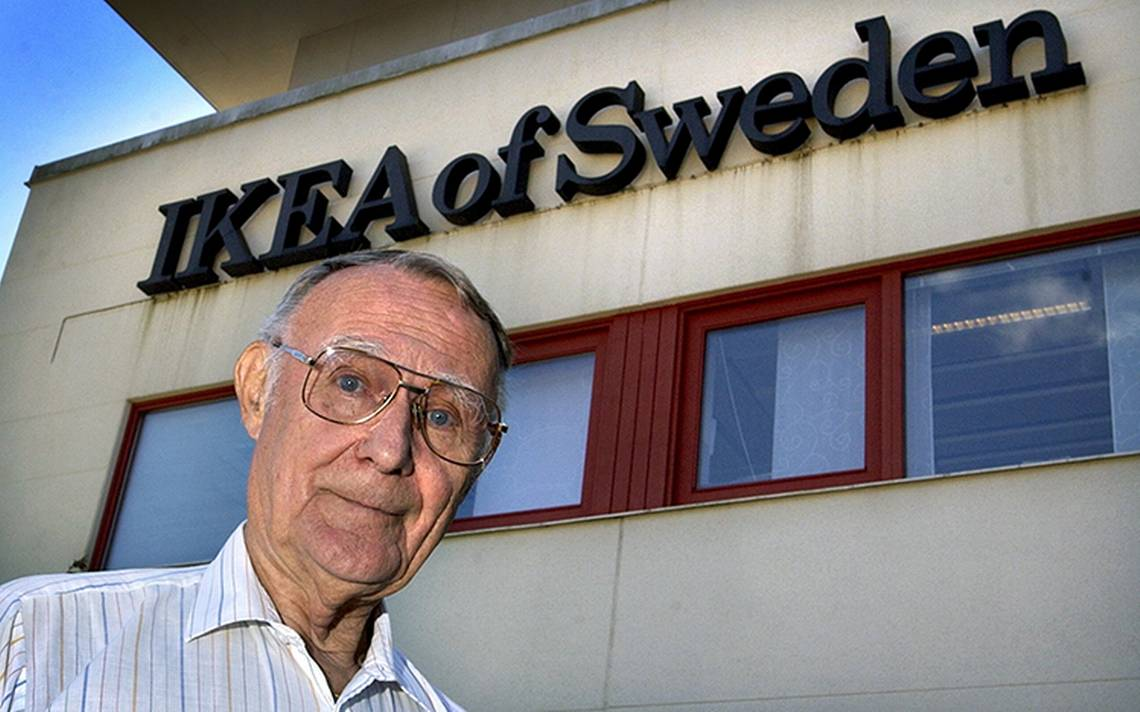 Muere Ingvar Kamprad, fundador de la cadena de muebles Ikea