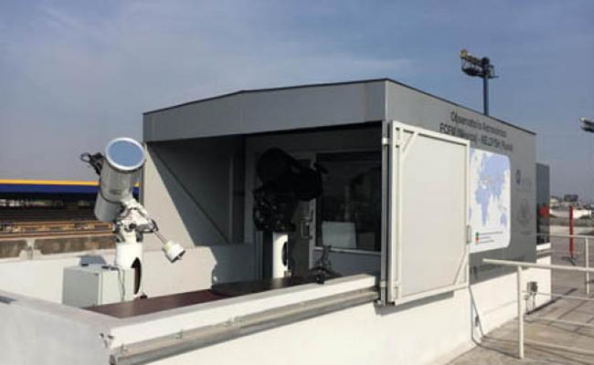 Inauguran Observatorio de Monitoreo de Basura Espacial