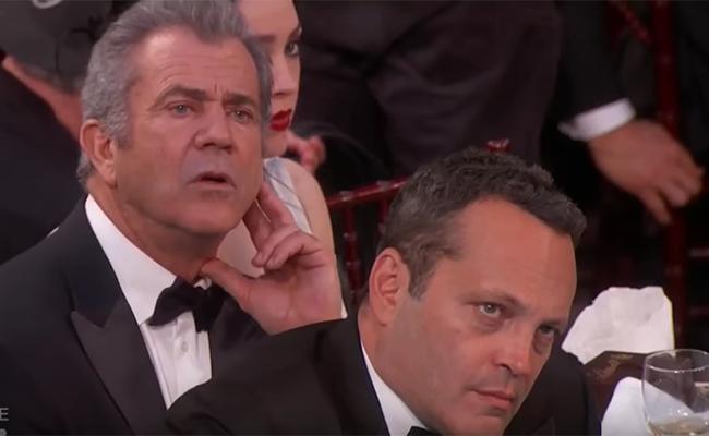 ¿Mel Gibson y Vince Vaughn, molestos con Meryl Streep?