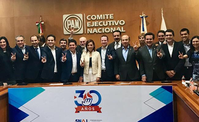 PAN define que Vázquez Mota es la opción más competitiva para Edomex