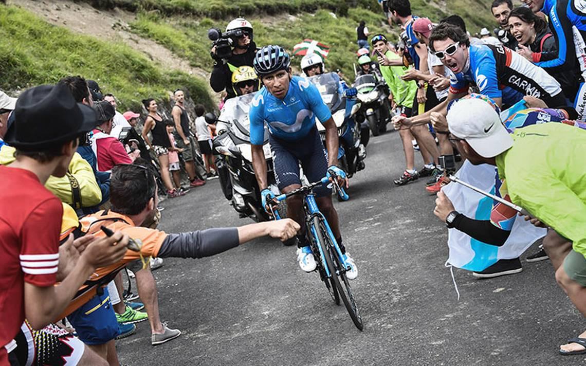 Nairo Quintana se impuso en Saint Lary Soulan