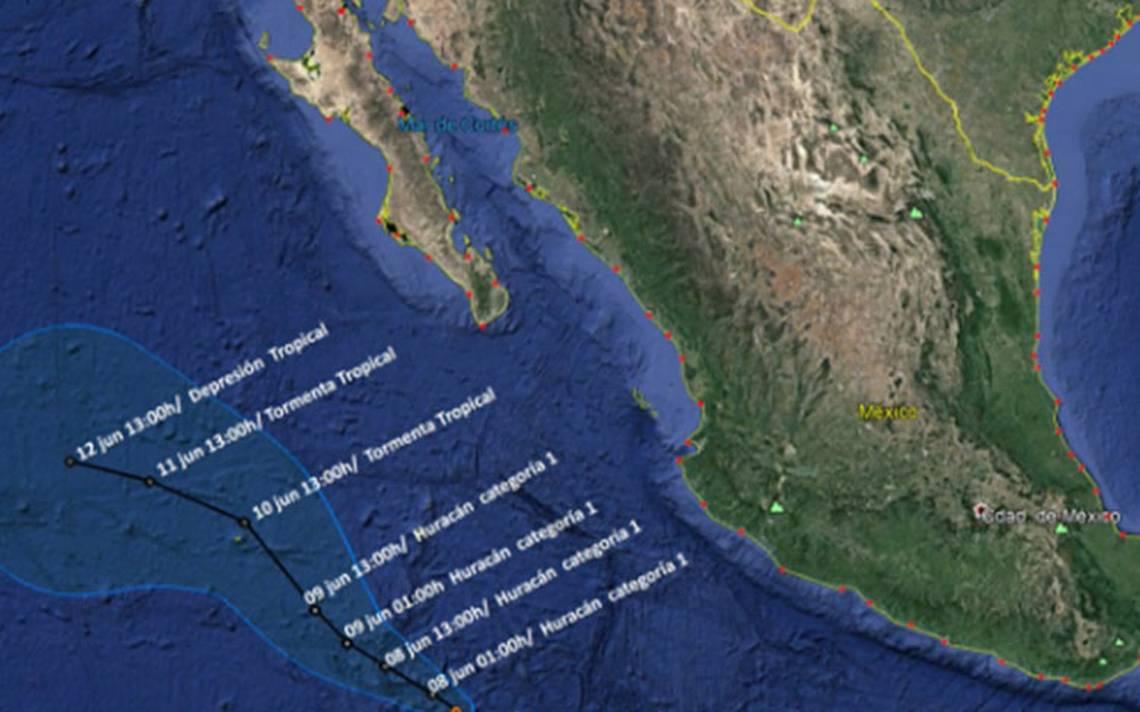Tormenta tropical Aletta se convierte en huracán categoría 1