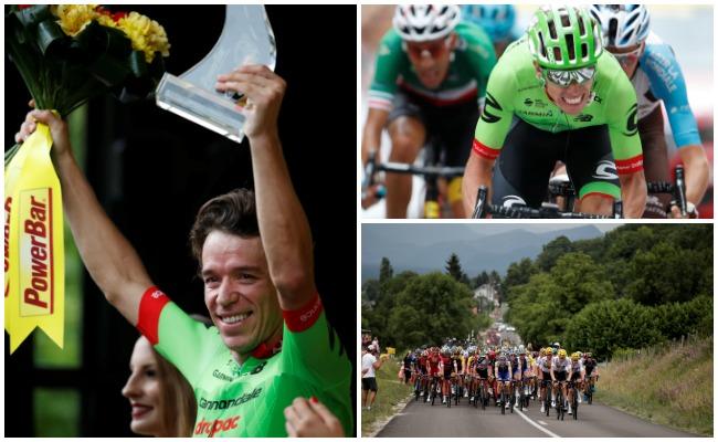 Colombiano gana novena etapa del Tour de Francia; Froome continúa como líder