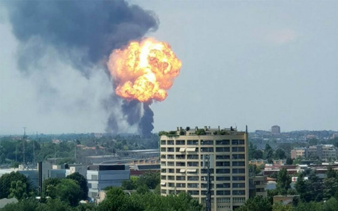 Reportan fuerte explosión cerca del aeropuerto de Bolonia, Italia