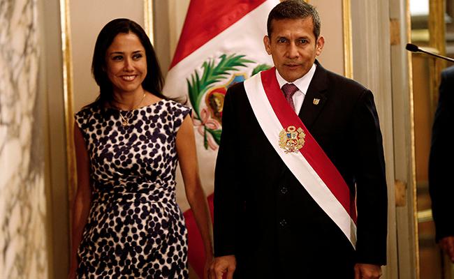 Ordenan prisión a expresidente peruano Ollanta Humala y su esposa